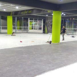 Laminate Classic Quick-Step, Σε μεγάλο γυμναστήριο στη Θεσσαλονίκη