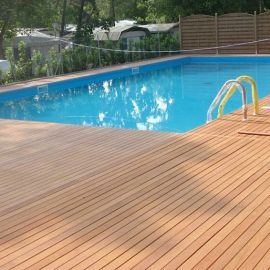 Angelim Amargoso Swimming pool deck