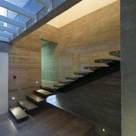 Σκαλοπάτια-Σιδηροκατασκευή-κρύσταλλο