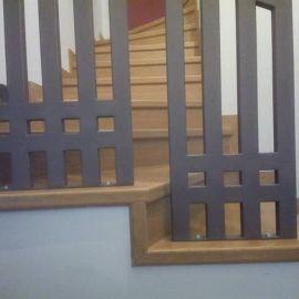 Ημιμασιφ κατασκευή σκάλας