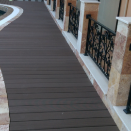 Extewood Decking WPC Bridged Decking DD
