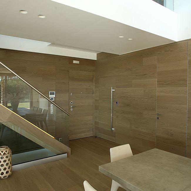 Επενδύσεις δαπέδου-τοίχου-πόρτας-σκάλας με ημιμασίφ δάπεδο QS