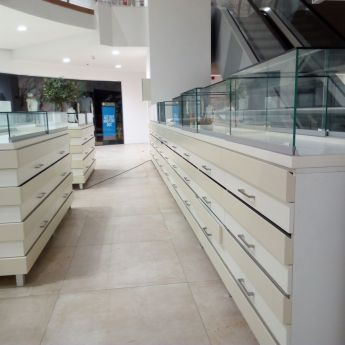 Jewelry drawers, Mega outlet, Thessaloniki