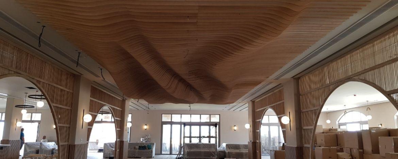 Επένδυση οροφής και τοίχου από τον ειδικό συνεργάτη Μιχάλη Σπινάκη
